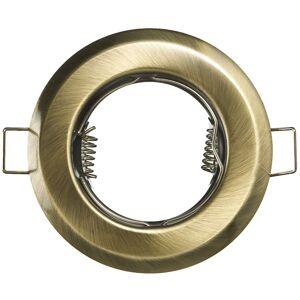 PREMIUMLUX Podhledové bodové svítidlo ALFA mosaz + patice,LUX01226